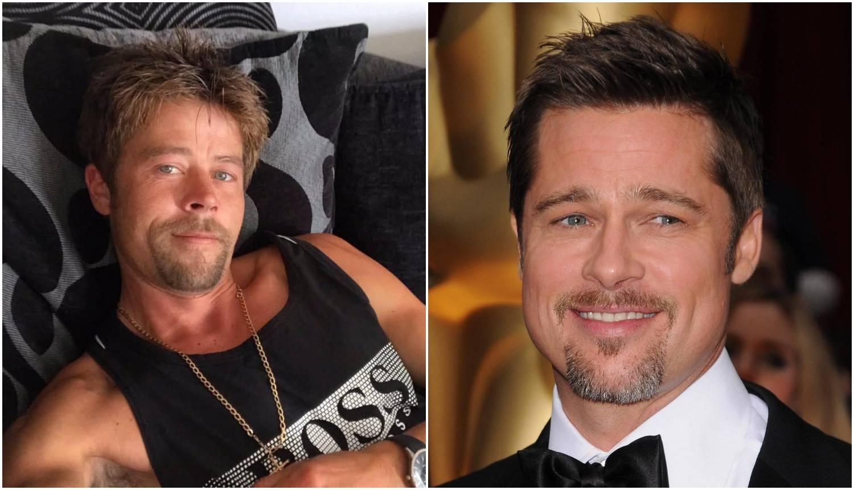 Britanski Brad Pitt: 'Nigdje ne mogu otići jer misle da sam on'