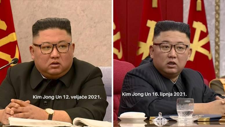 Novi izgled diktatora: Kim Jong Un je smršavio, ne zna se što mu je, narodu 'slomljeno srce'