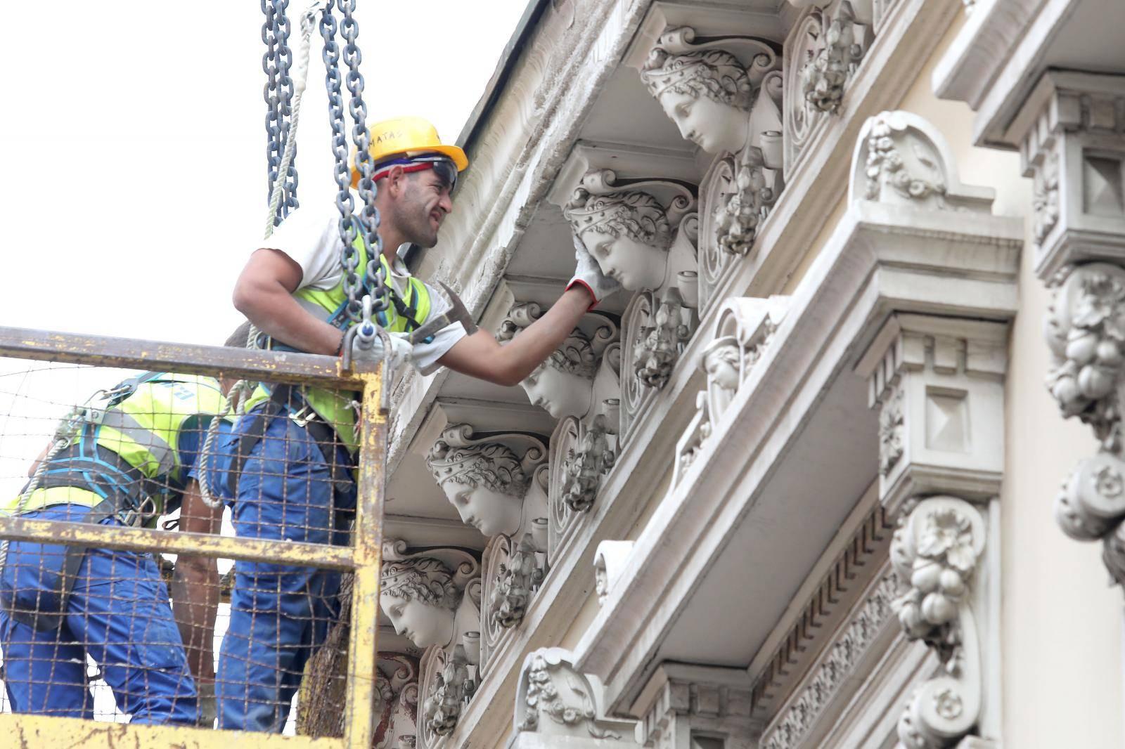Od posljedica potresa počela sanacija Radićeve ulice