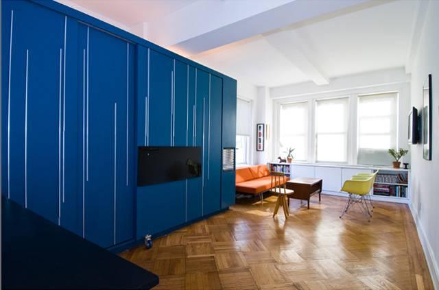 Origami stan: Jedna se soba rasklapa i pretvara u njih četiri