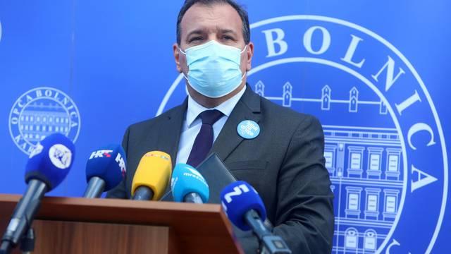 Vili Beroš dao izjavu nakon službenog posjeta Općoj bolnici Karlovac