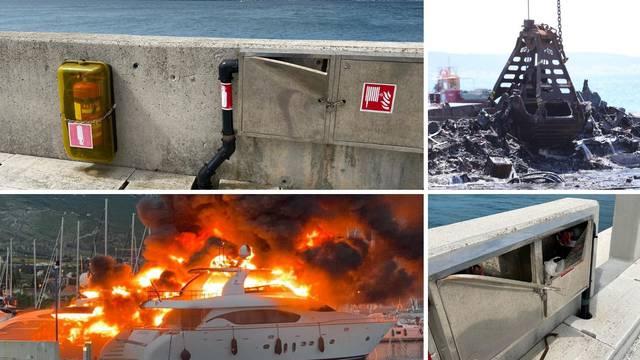 Vlasnik marine o lancima: 'Hidrante moramo zaključati, a u njih su provalili u panici'