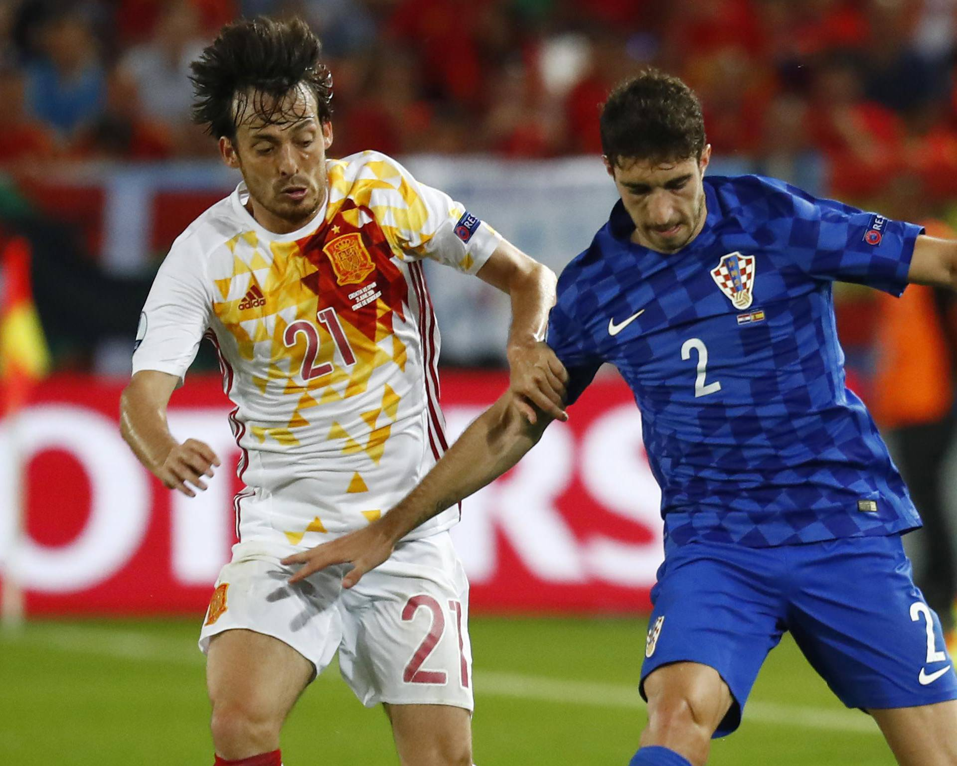 Croatia v Spain - EURO 2016 - Group D