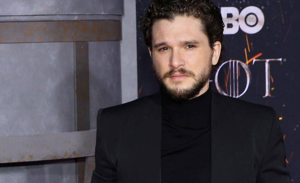 """FILE PHOTO: Kit Harington arrives for the premiere of the final season of """"Game of Thrones"""" at Radio City Music Hall in New York"""