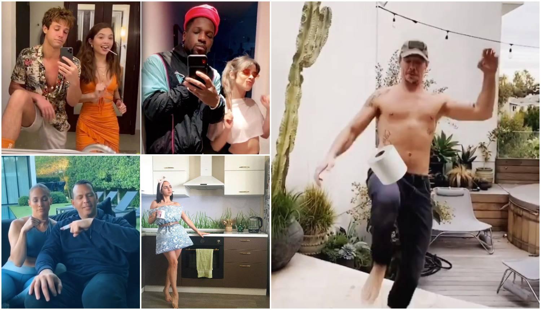Celebrity izazovi u karanteni: Zamjene mjesta, kvizovi, ples...