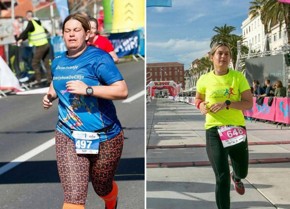 Težina joj nije bila prepreka za maratone, a skinula je 28 kila!