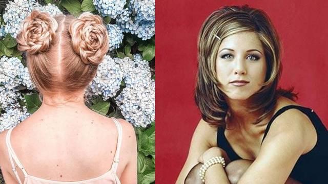 Rachel, kikice i male punđe: Povratak frizura iz devedesetih