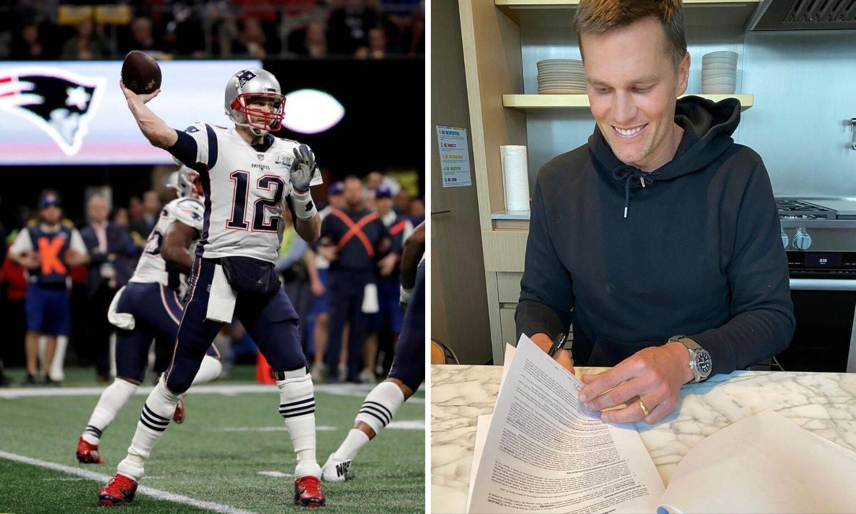 Tom Brady i službeno potpisao za Tampa Bay Buccaneerse...