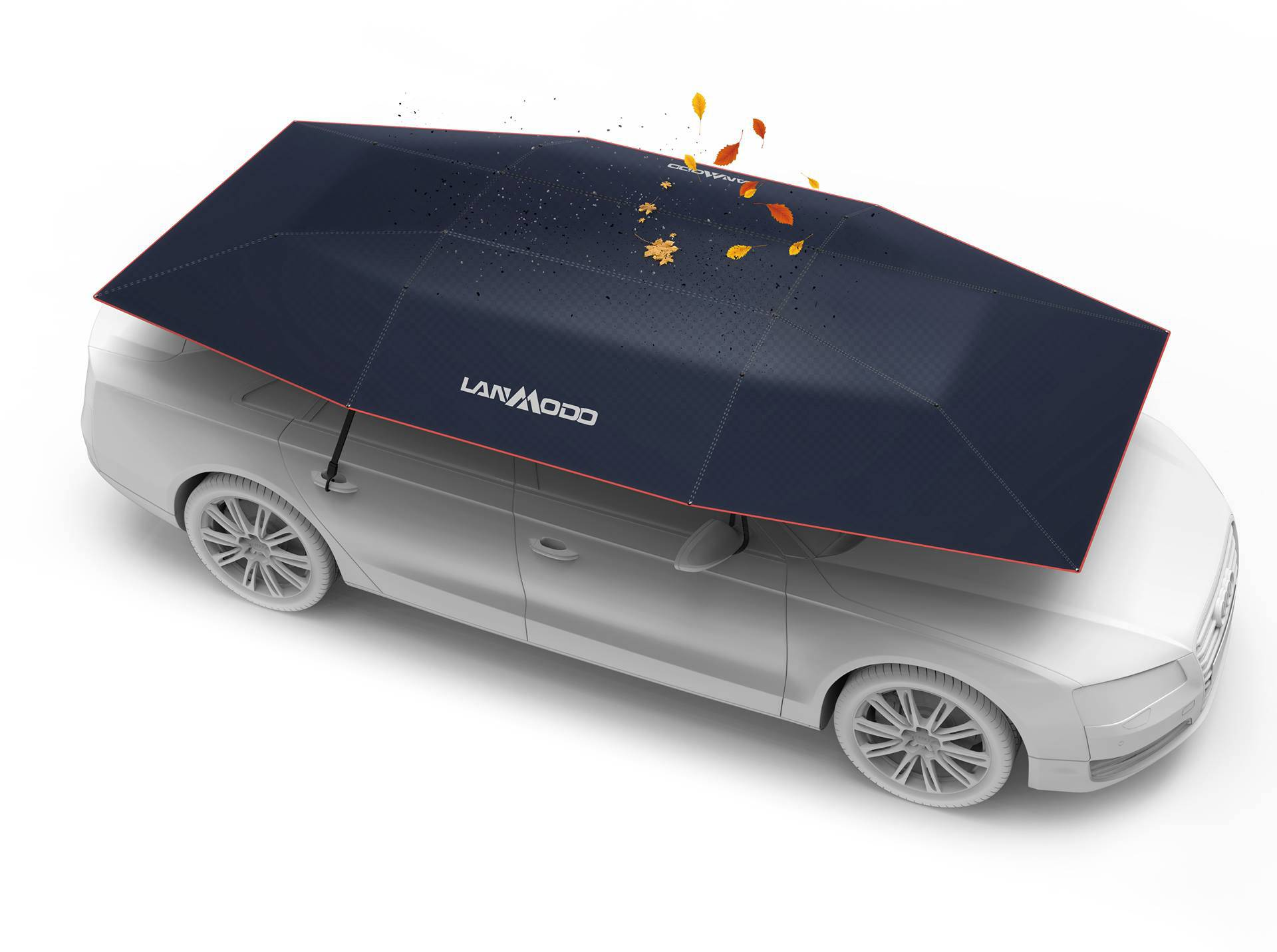 Izumili kišobran za automobil: Štiti od snijega, tuče, sunca...