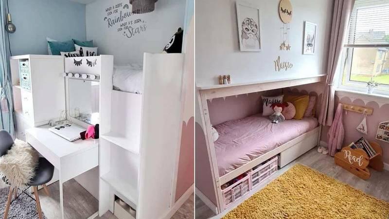 Mama od jedne sobe napravila dvije uz pomoć kreveta na kat