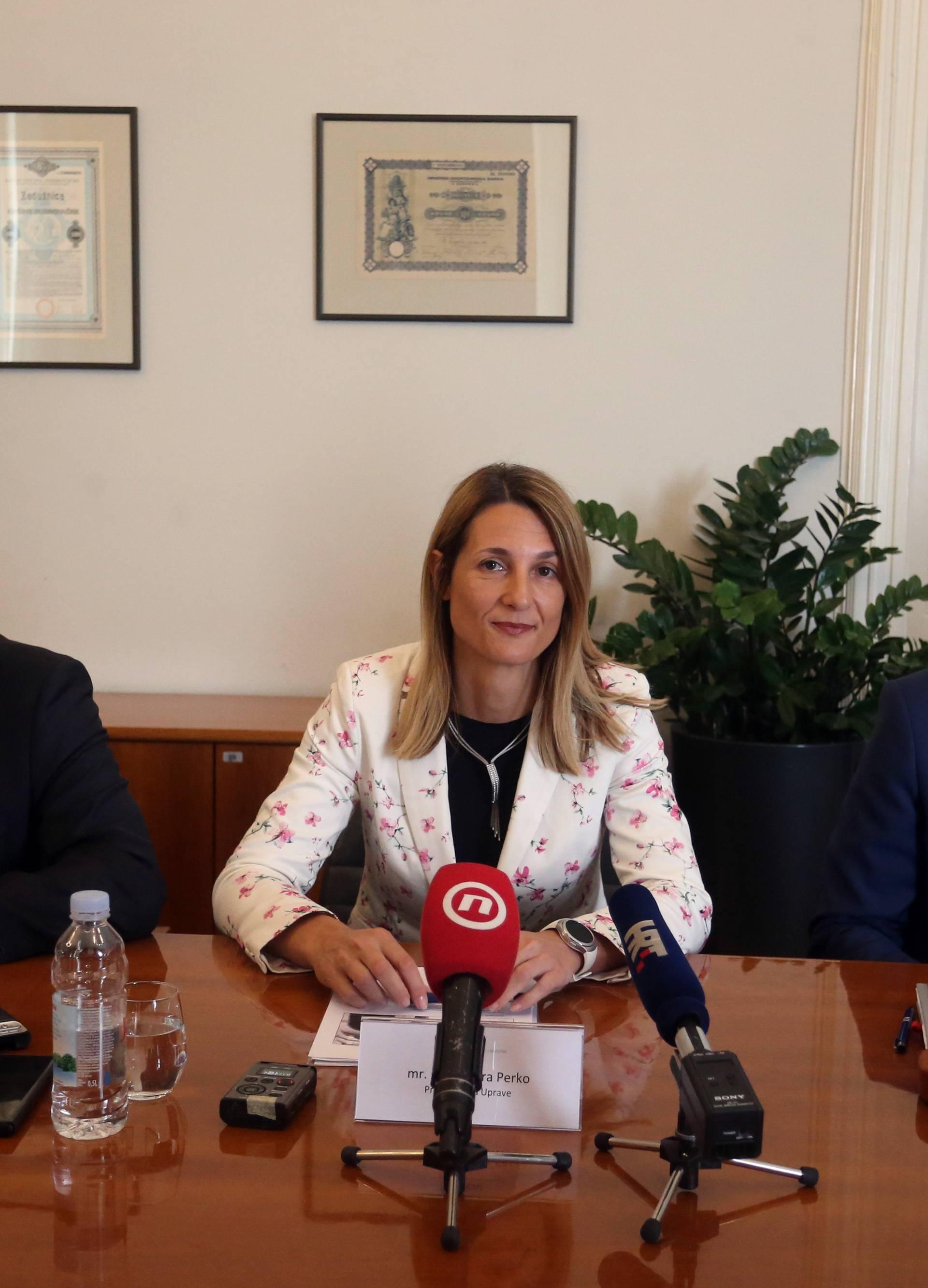 Zagreb: Konferencija za medije Hrvatske banke za obnovu i razvitak