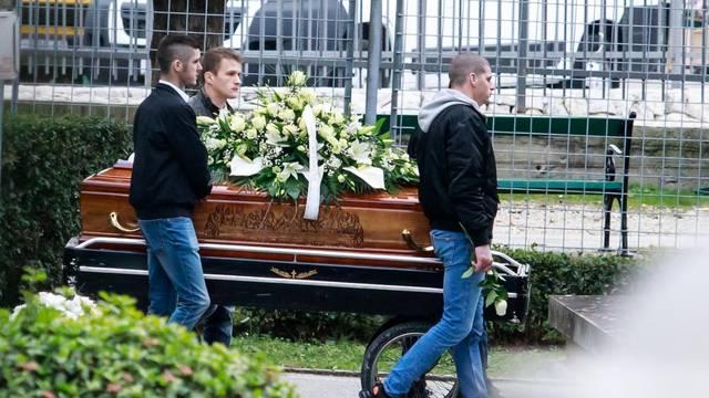 Pogreb Marina Bobana, jednog od ubijenih u ubilackom pohodu