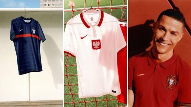 Čiji vam je najljepši? Portugalci kao u polo majici, a za dresom Poljske nitko se baš neće potući