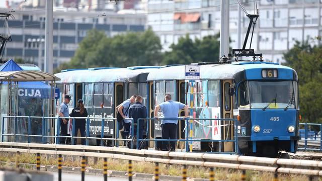 Zagreb: U tramvaju na Mostu mladosti pronađeno mrtvo tijelo muškarca