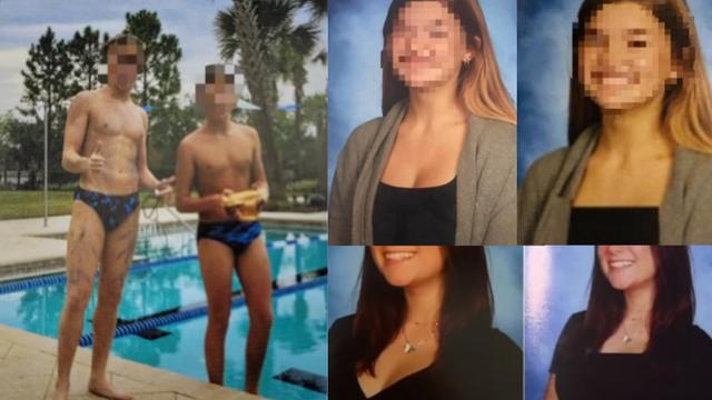 Primjer uređenih fotografija u godišnjaku Bartram Trail srednje škole.