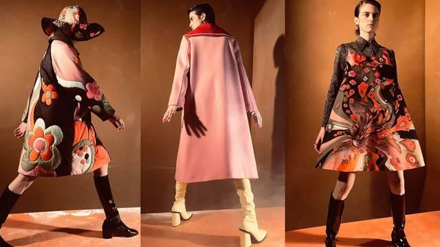 Šezdesete su glavna tema novih slatkih haljina brenda Vivetta
