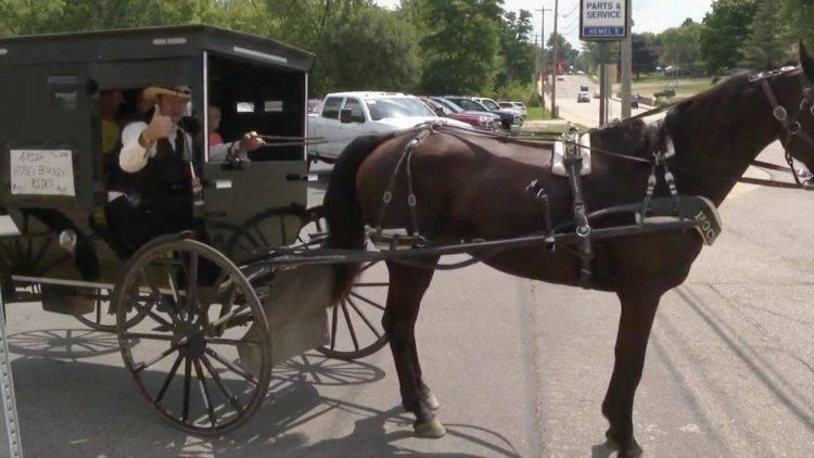 Uber na amiški način: Svoje klijente vozi gradom u kočiji