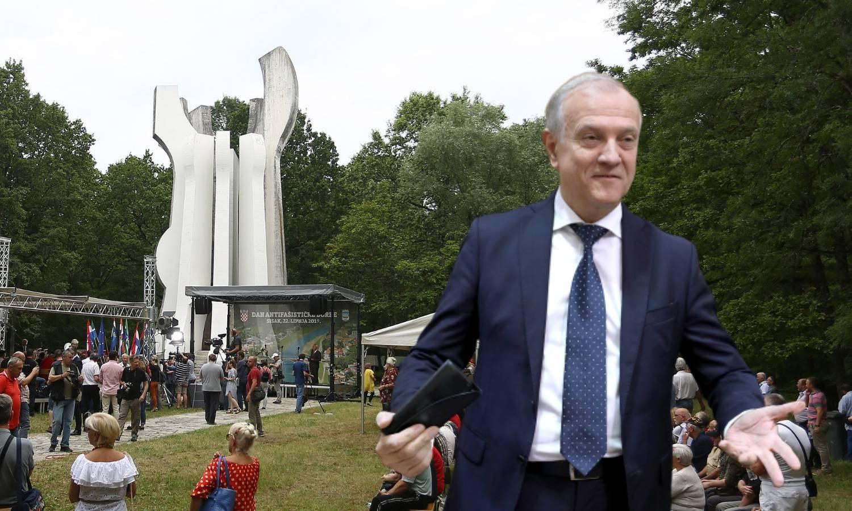 Ministar Bošnjaković malo se zbunio: Recimo ne antifašizmu