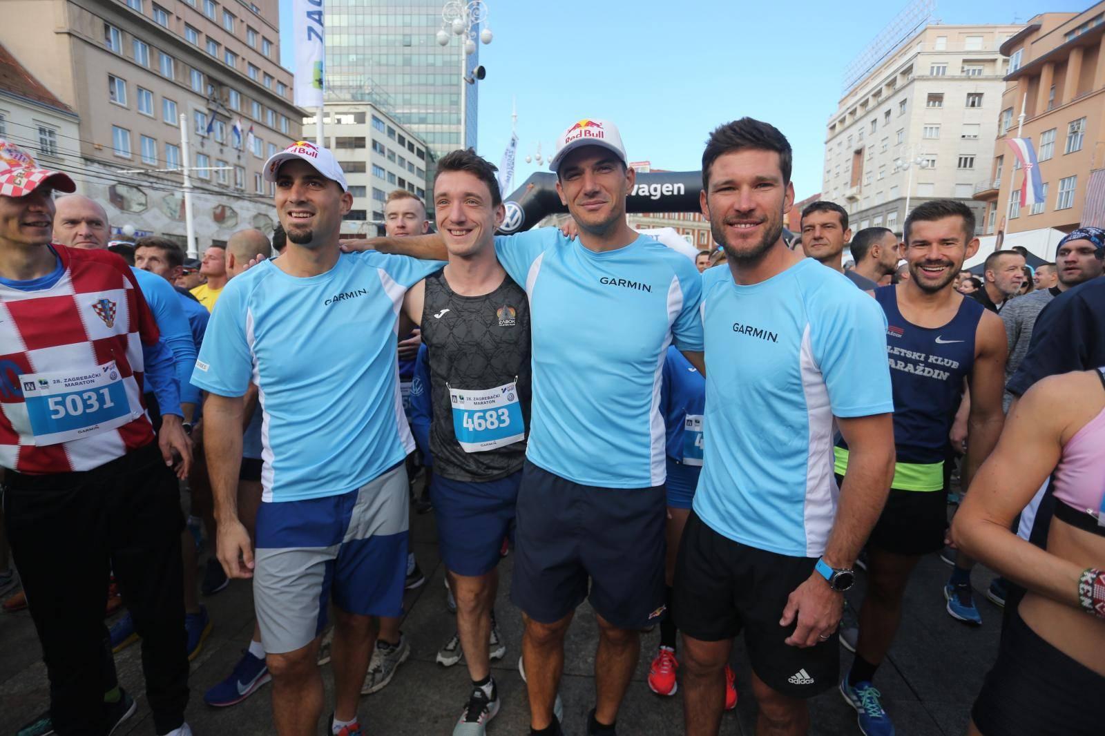 Zlatni olimpijci su se udružili: Trčali su zagrebački maraton...