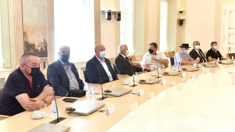 Generali iz operacije Bljesak stigli na sastanak s premijerom: 'Ovo je veća geopolitička igra'