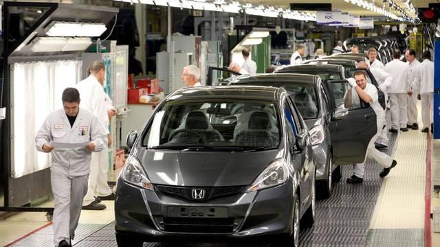 Honda factory at South Marston