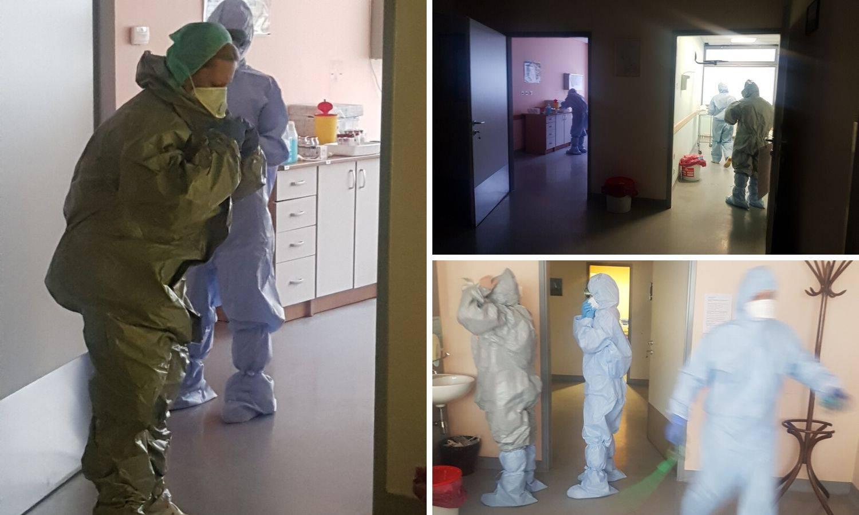 Pogledajte kako se u bolnici u Koprivnici spremaju za koronu