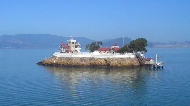 East Brother Island Lighthouse, San Pablo Bay, California