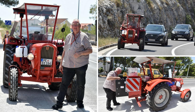 Nijemac (63) na ljetovanje u Hrvatsku putovao traktorom
