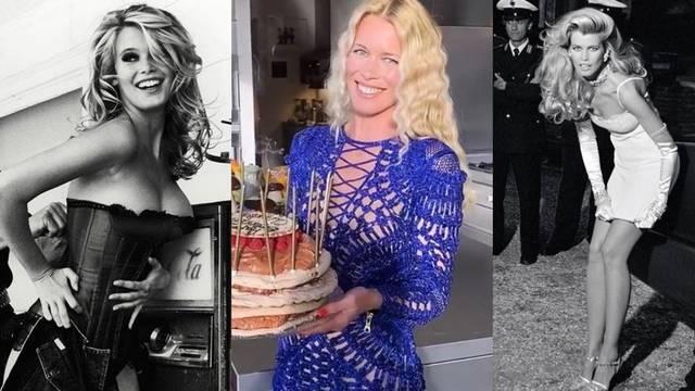 Slavni model: Claudia Schiffer proslavila je svoj 50. rođendan