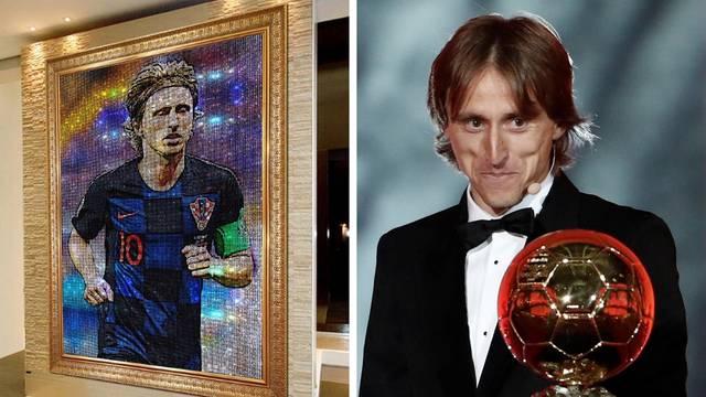 Kolumbijac voli Luku! Napravio je njegov portret od kristala...
