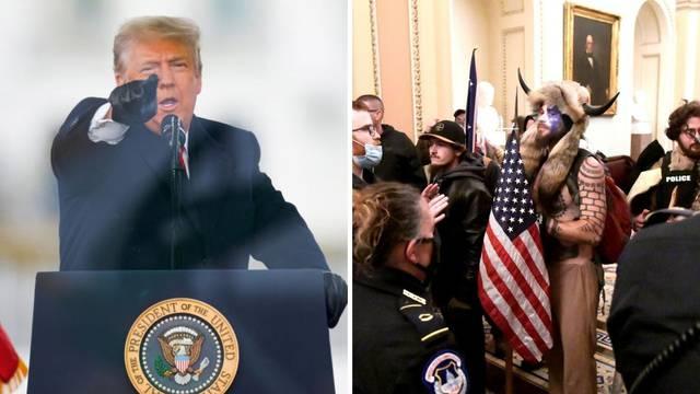 Demokrati ne odustaju: Traže Trumpov opoziv i nakon nemira