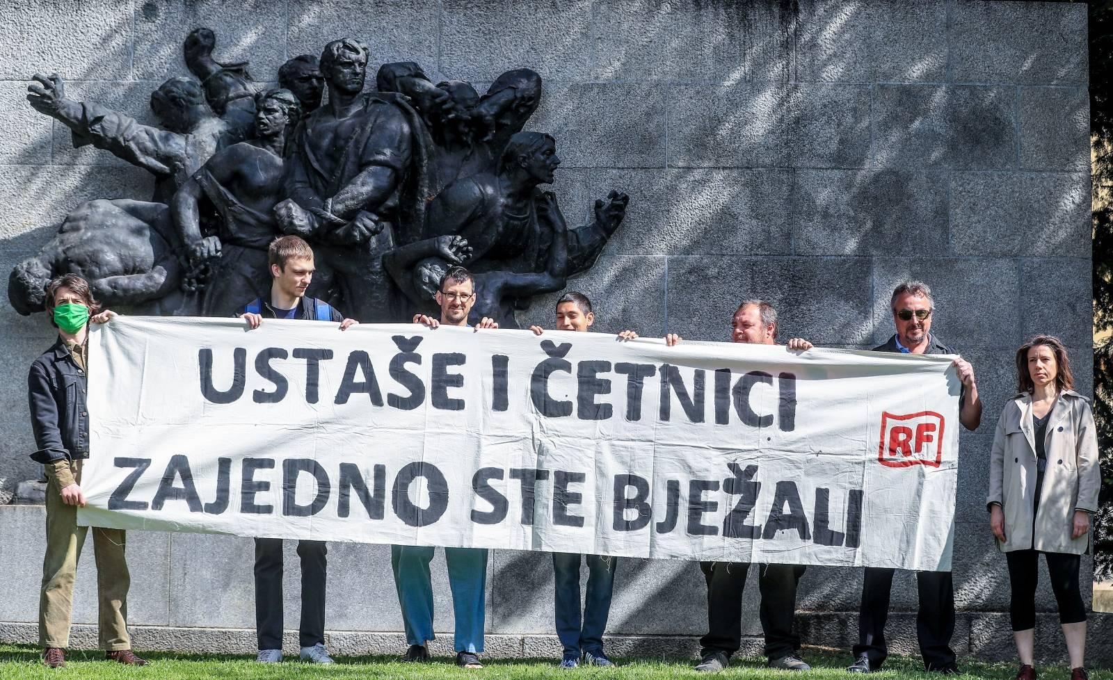 Zagreb: Radnička fronta održala konferenciju povodom obilježavanja Bleiburga