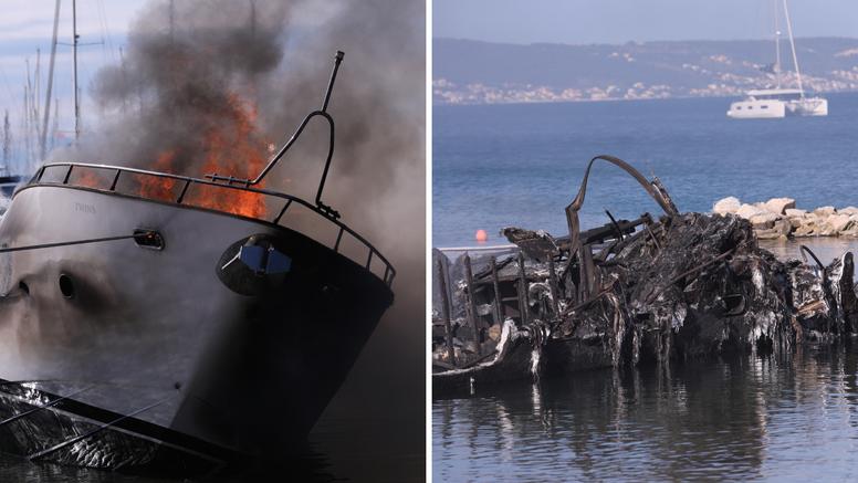 Izgorjelo je pet luksuznih jahti: 'Svi brodovi su imali osiguranje kasko. Policija sad radi posao'