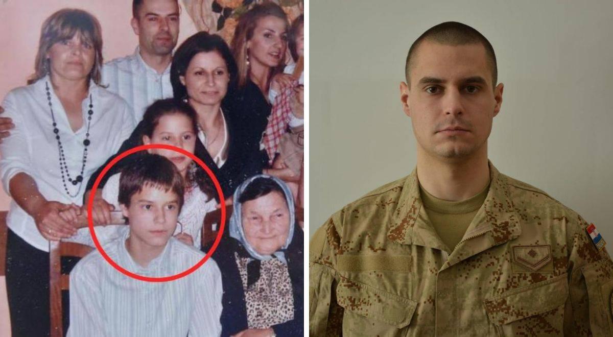 'Bio je dobar mladić. Zbog tate je želio postati hrvatski vojnik'