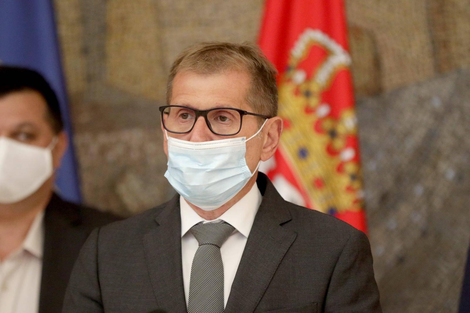 Beograd: Direktor policije Vladimir Rebić održao konferenciju za medije
