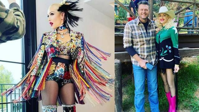 Gwen Stefani kombinira snažne tonove: Od fuksije do ludo žute