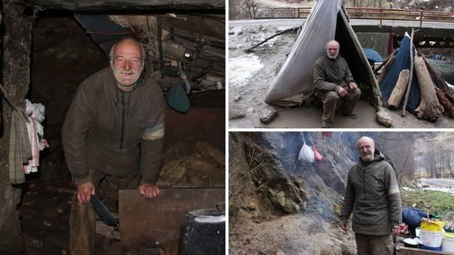 Već 9 godina živi u špilji kod Zenice: 'Uskoro krećem dalje...'