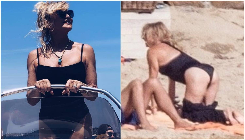Ma koja Kate Hudson? Goldie Hawn (72) skinula se u badić