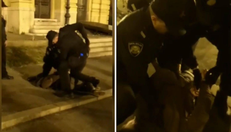 Tučnjava kod HNK: Policajci priveli 22-godišnjaka zbog vrijeđanja i omalovažanja