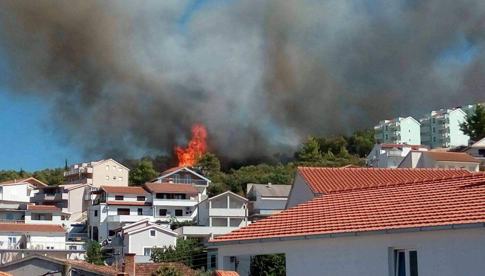 Požar na Čiovu izazvao je 42-godišnjak koji je vario ogradu