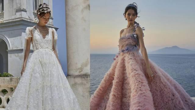 Luisa Beccaria ima haljine za princeze: Svilene krinoline, raskošni volani i cvjetni vez