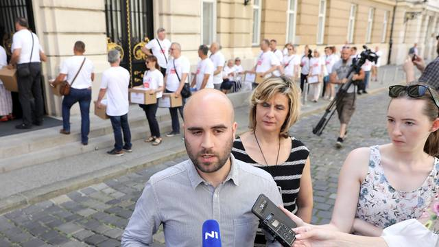 Zagreb: Konferencija za medije građanske inicijative Narod odlučuje