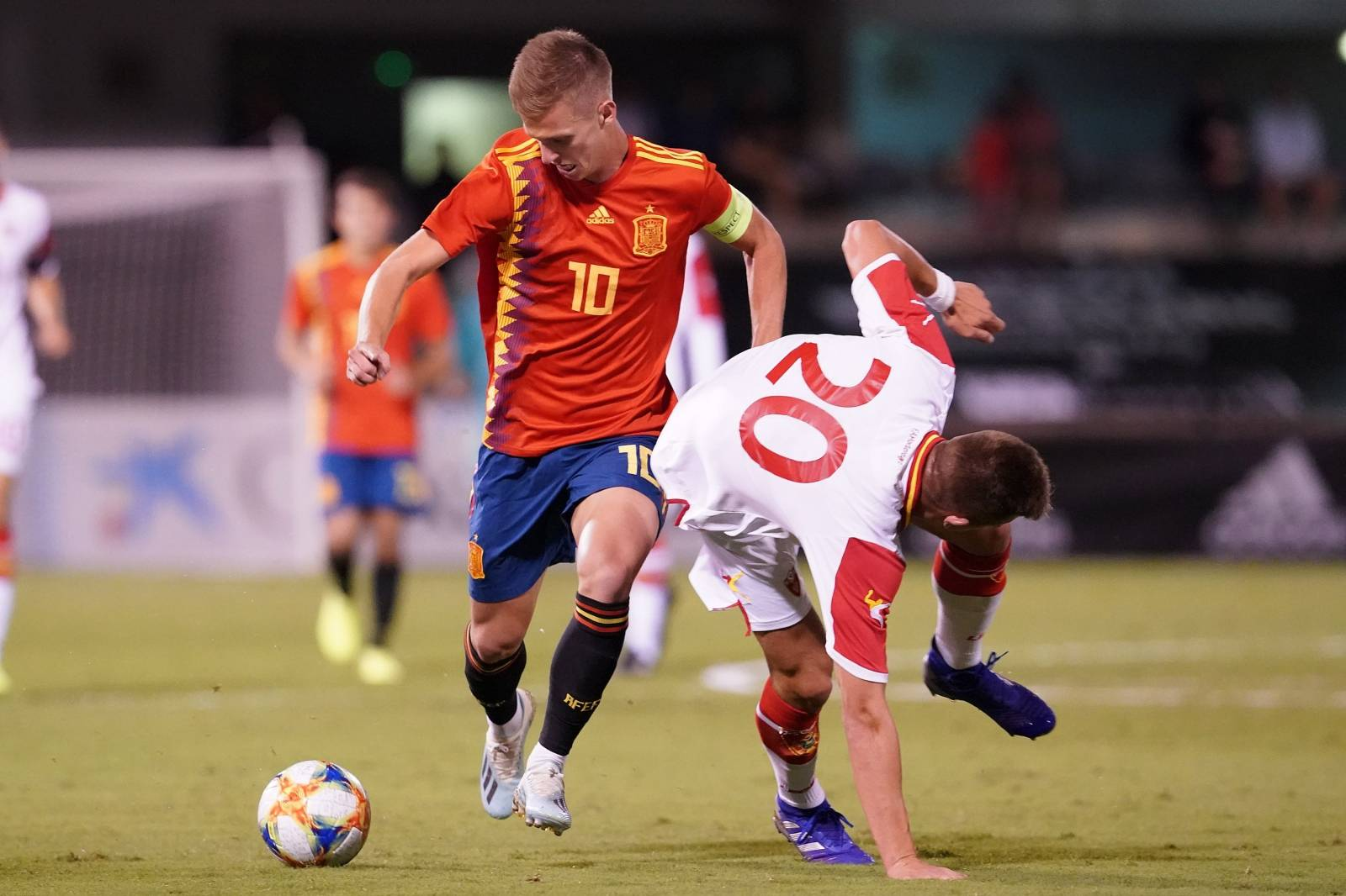 SPAIN v MONTENEGRO. EUROPEAN UNDER-21 CHAMPIONSHIP 2021. GROUP 6. QUALIFYING ROUND.