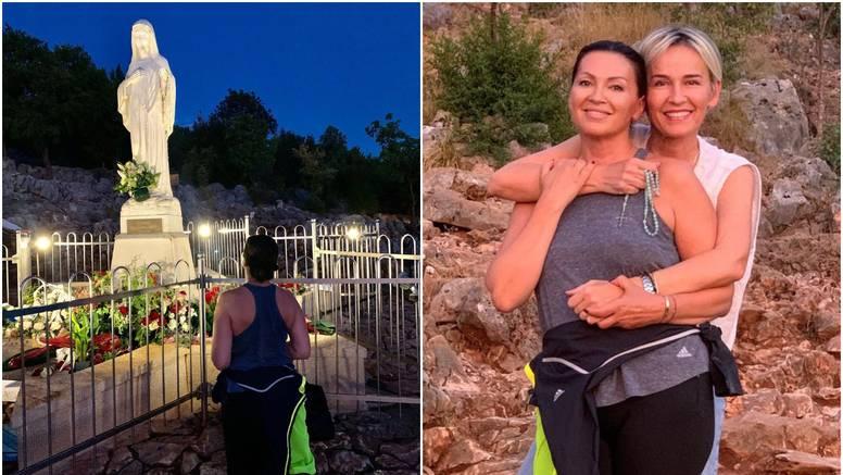 Nina Badrić je s prijateljicom posjetila svetište Međugorje