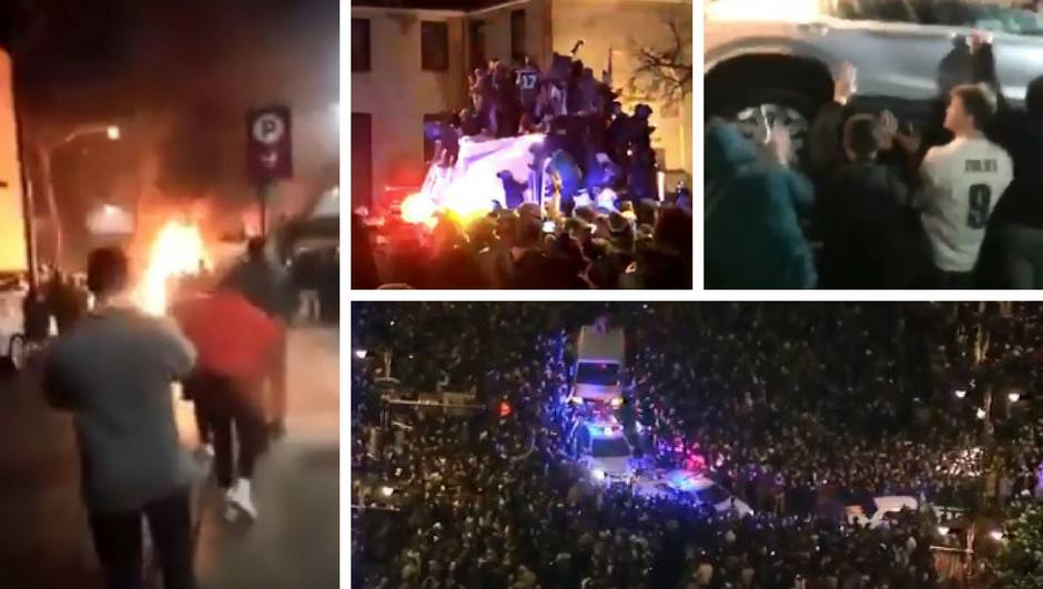 Rasturaju Philadelphiju: Vatra, eksplozije, sukobi s policijom...