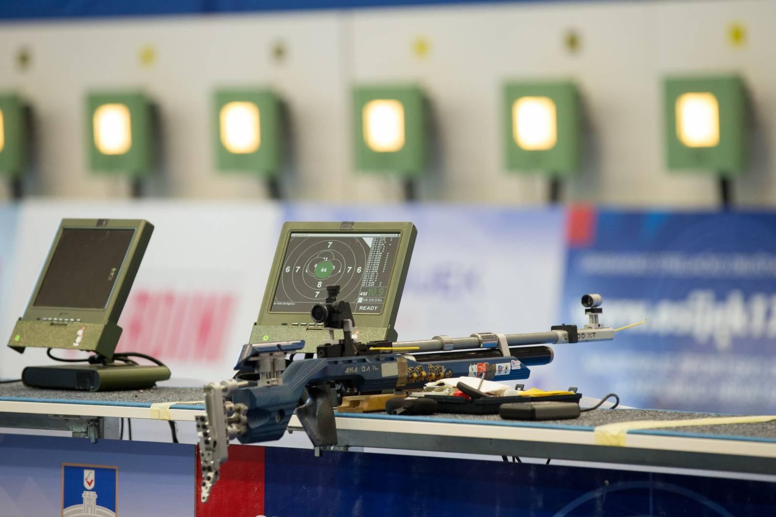 Osijek: Službeni trening Europskog prvenstva u streljaštvu zračnim oružjem 10 metara