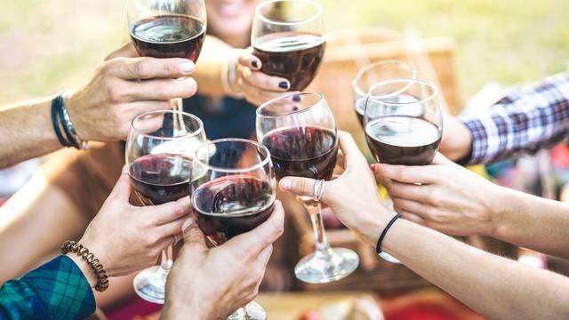 Prosječna potrošnja vina je 22 litre po stanovniku u Hrvatskoj