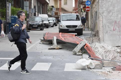 Šibenik: Olujni udari bure noćas dosezali skoro 100 kilometara na sat