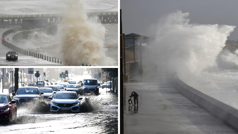 Oluja Ciara snažno udarila na zapad Europe, promet u kaosu
