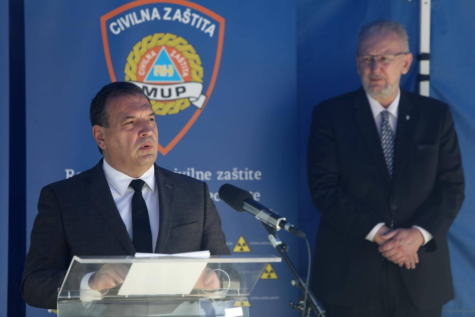 Nacionalni stozer civilne zastite odrzao je redovnu konferenciju